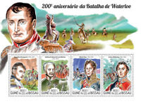 Guinea-Bissau Military Stamps 2015 MNH Battle of Waterloo Napoleon Ney 4v M/S