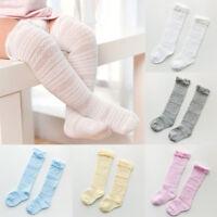 Newborn Baby Toddler Knee High Lace Cute Long Sock Boys Girls Leg Warmers Socks