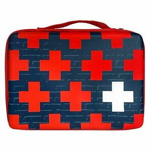 NEW - Band-Aid Build Your Own First Aid Kit Bag - Red