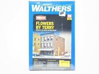 HO Scale 1/87 Walthers 933-3473 Flowers By Terry Building Kit Sealed