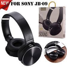 For Sony JB-09 Extra Bass Wireless Bluetooth Stereo Audio Headphone JB09- Black