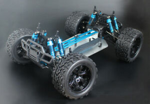 Cheapest Metal Version 1/10 RC 4WD Chassis Buggy Monster Truck Frame Brushless