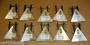 Lot of 10 New T-FLECTOR Granular Insecticide Deflectors for Planter