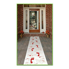 Bloody Footprints Runner Halloween Party Haunted House Decoration