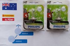Philips H7 55W Lifetime x4 Longlife EcoVision 12342PRB1 Automotive Lighting