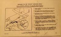 Cox Co-Pilot Launching Device Instructions Photocopy for Gas Powered Plane