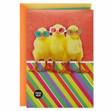 Chicken Dance Musical Easter Card With Motion