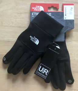 The North Face Unisex Etip Glove Size Medium Black Medium