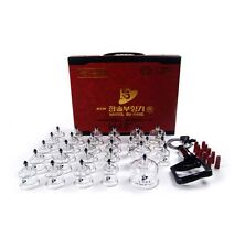 Ship from USA Hansol 30PCS Cup Massage Professional Cupping Vacuum Therapy SET