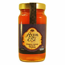 Greek Raw Organic Honey Forest & Thyme 800g glass jar