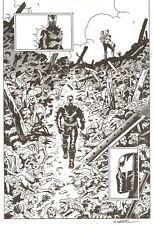 GRENDEL: DEVIL'S ODYSSEY # 3 Pg. 6 by MATT WAGNER! SIGNED!! INCREDIBLE SPLASH!!!