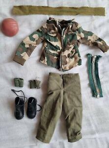 Vintage Action Man Para Uniform