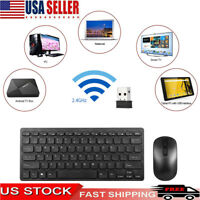 78 Key Ultra Slim 2.4G Wireless Gaming Keyboard and Mouse Combo for Laptop PC