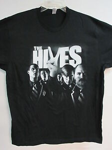 THE HIVES OFFICIAL BLACK & WHITE TOUR 2007 BAND CONCERT MUSIC SHIRT EXTRA LARGE