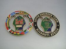 AFRICOM 257th EN BN Army Well Drilling coin by Phoenix Challenge Coins