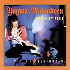 YNGWIE MALMSTEEN Trial By Fire Live In Leningrad JAPAN MINI LP SHM CD