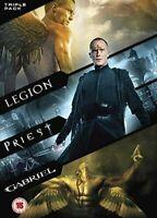 Gabriel/Legion/Priest [DVD] Dwaine Stevenson, Dennis Quaid Gift Idea 3 Movie Set