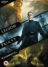 Gabriel/Legion/Priest [DVD] Dwaine Stevenson, Dennis Quaid Gift Idea 3 Movie Set