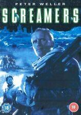 SCREAMERS DVD Peter Weller Roy Dupuis Movie Film Original UK Release New R2