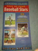 1961 GOLDEN TRADING CARD HALL OF FAME BASEBALL STARS TOTAL 33 PLAYERS RARE RUTH