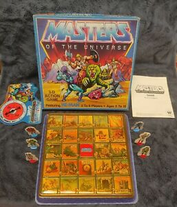 Vintage 1980's Masters Of The Universe/He-Man 3d Action Game Complete
