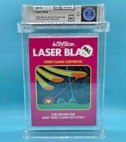 LASER BLAST  - WATA 7.0 NS   Atari 2600  by ACTIVISION  - NEW  - ULTRA RARE !