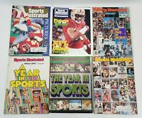 Sports illustrated Year In Sports Covers Lot of 4 - Pictures of Year Lot of 2