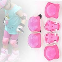 6pcs Kids Teens Elbow & Wrist Protective Knee Guard Gear Safety pads skate bikes