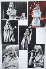 Agnetha Faltskog Live Concert Tour 1977 Photo Set 3 *Mamma Mia ABBA Frida A SOS