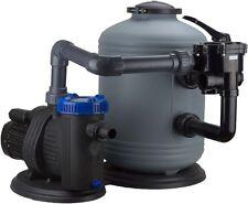 Leistungsstarke Sandfilteranlage 12000l/h Sandfilter Pool Filteranlage