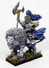 MOM Miniaturas Elf Thirdriel on Lion Elves resin New