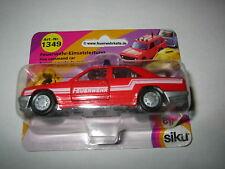Siku Feuerwehr 1349 Mercedes-Benz 300 E (Baureihe W 124, Modell 1985-1986) OVP