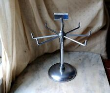 """Vintage Revolving Store Counter Display Rack 11"""" Tall, Jewelry, Carded Items?"""