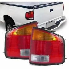 Red Amber Tail Lights 1994-2004 GMC Sonoma / Chevy S10 / Isuzu Hombre Brazilian