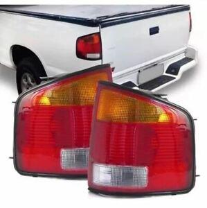 Red Amber Tail Lights 1994-2004 GMC Sonoma / Chevy S10 / Isuzu Hombre Brazilian