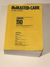 McMaster Carr Supply Co. Catalog No 110