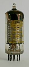 Mullard EF89 Mesh Anode Square Getter Valve/Tube Used Yellow Print (V45)