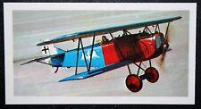 Fokker DV11  World War 1  German Fighter     Illustrated  Card # EXC