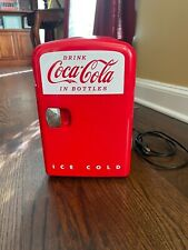 coca cola mini fridge 6 can for Home, Office or Car