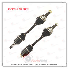 Pair of Mazda 3 BK Series 2 & 3 2.0L Automatic CV Joint Drive Shaft 05-09