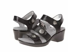 NEW Alegria OLI-631 Olivia Dusty Black sandal shoes size 40