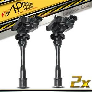 2x Ignition Coils for Mitsubishi Lancer CE Pajero iO Proton 1996-2005 MD325048