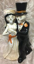 NEW Yankee Candle 2016 Boney Bunch Bride & Groom Last Tango Taper Holder 8.5""