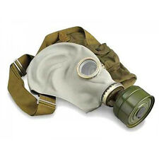 gas mask GP-5 Russian soviet Military Gray with filter & bag. NOS  size 2