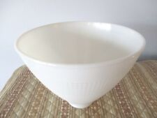 Large Waffle Weave White Corning Glass Globe Diffuser for Tole or Vintage Light