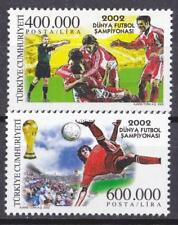TURKEY 2002 JAPAN-KOREA 02 FOOTBALL SOCCER WORLD CHAMPIONSHIP MNH C458