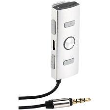 auvisio Kopfhörerverstärker mit Mikro für iPhone/Smartphone/MP3-Player
