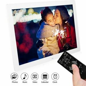 """Profi 17"""" HD Digitaler Bilderrahmen Fotorahmen 2 USB 1440*900 100-240V 16:10"""