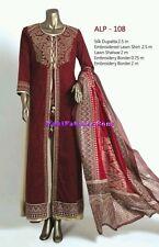 """""""Almirah"""" pakistani designer 4 pieces dress with silk dopata"""