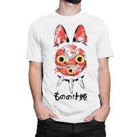 Princess Mononoke Graphic T-Shirt, Hayao Miyazaki Studio Ghibli Tee